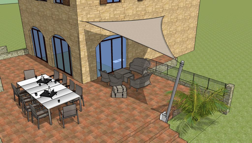 Cas n°1 : Terrasse d'appoint