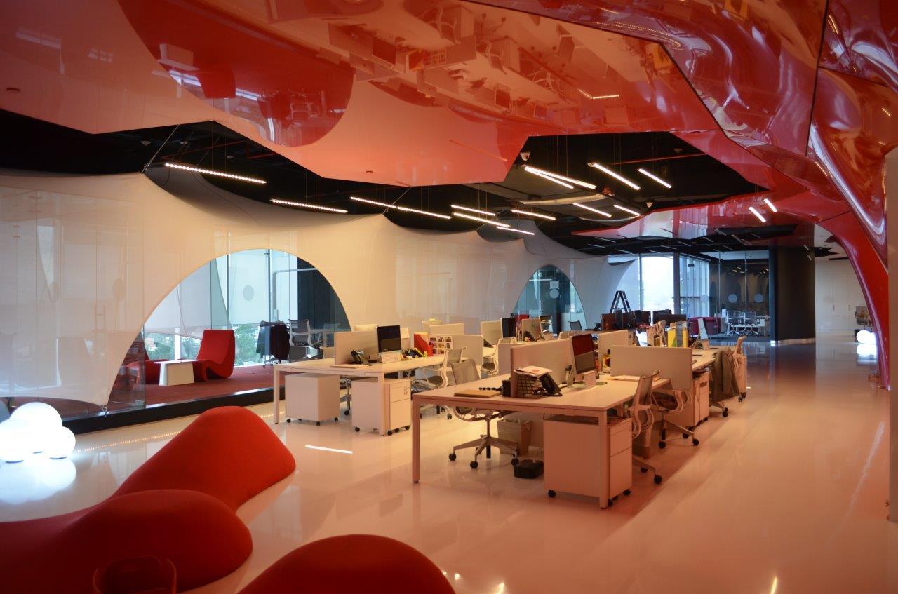 Gestion de l'acoustique dans un openspace bureau