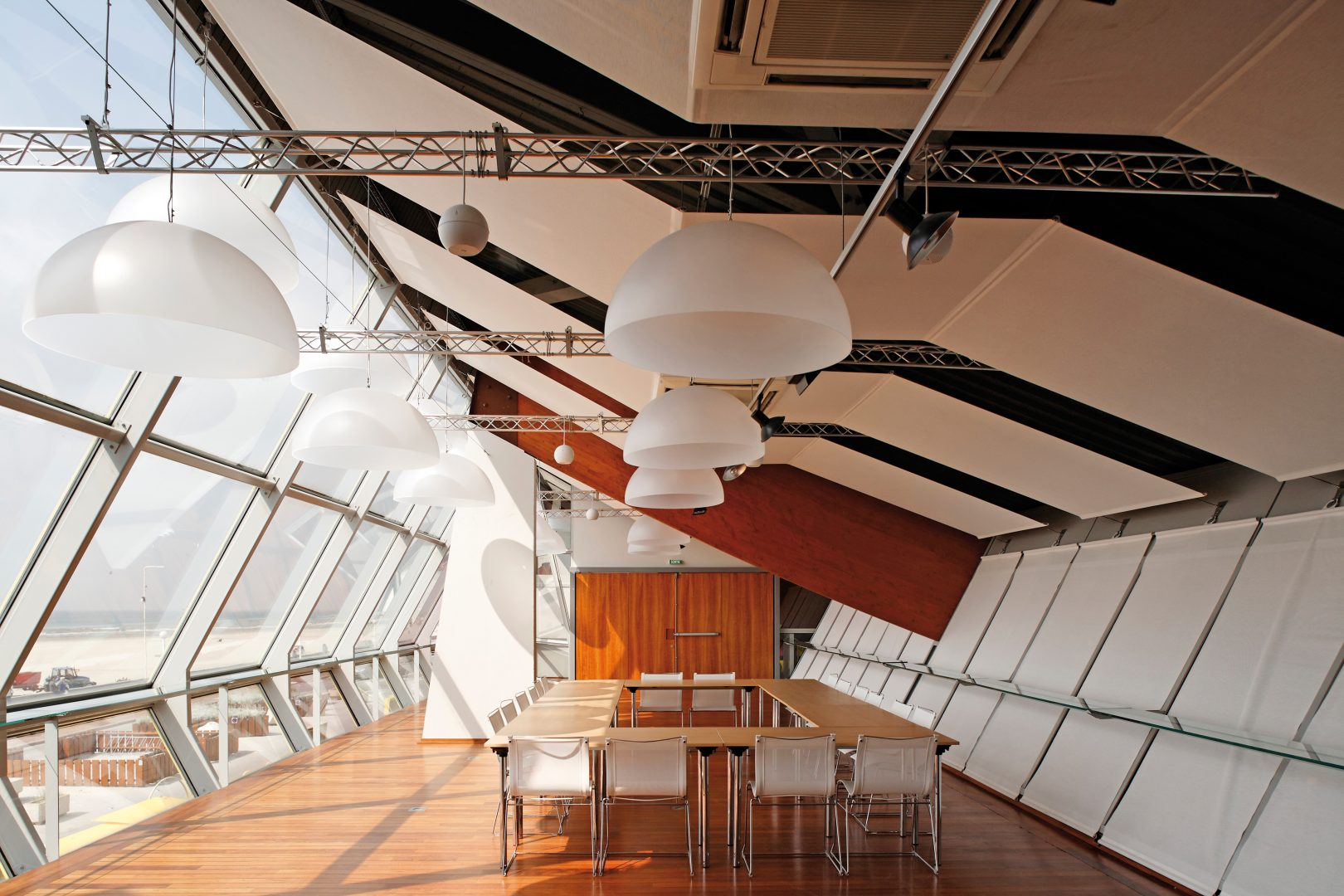 gestion de l'acoustique dans une salle de réunion