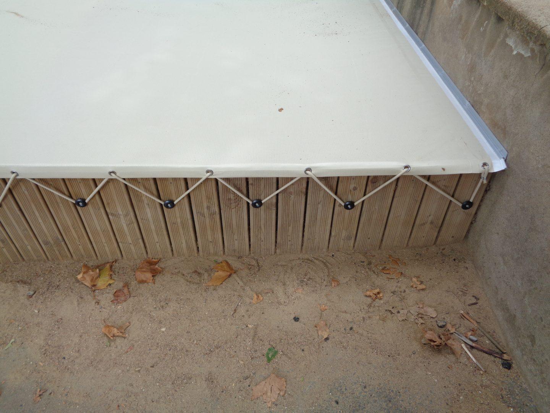 Housse de protection de bac à sable