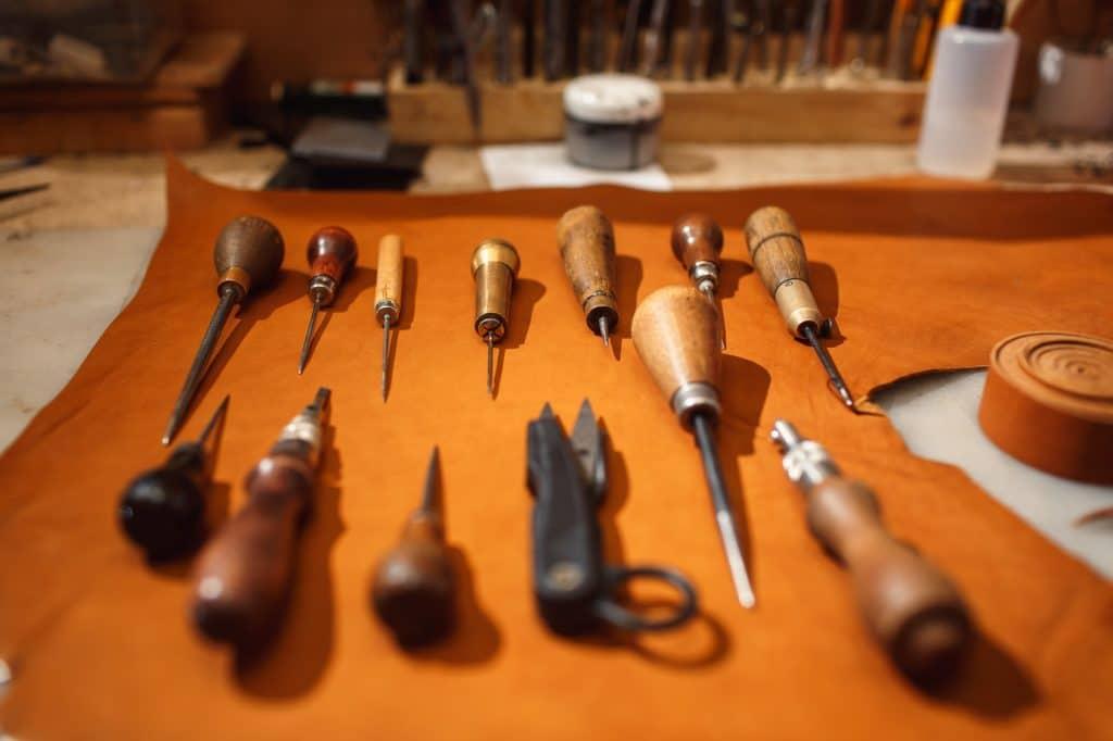 Focus : le travail du cuir