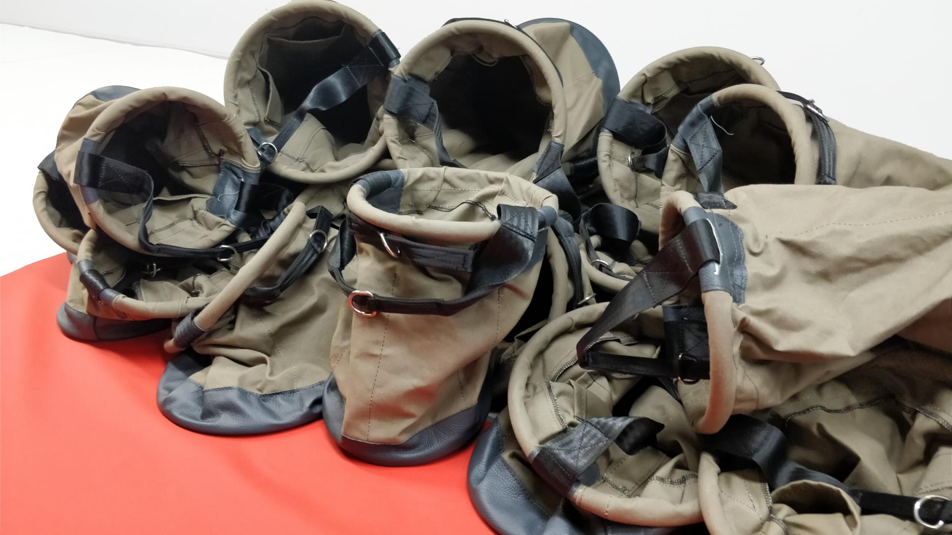 Série industrielle de sacs de transpor