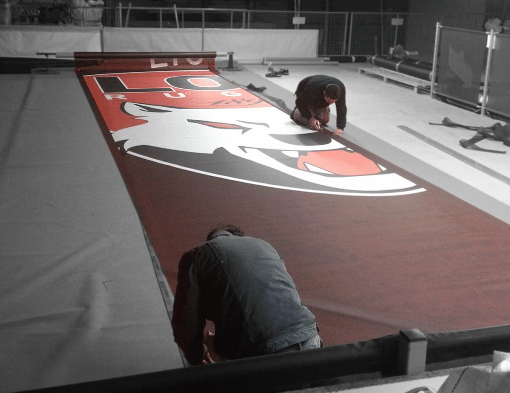 Le travail des grandes surfaces