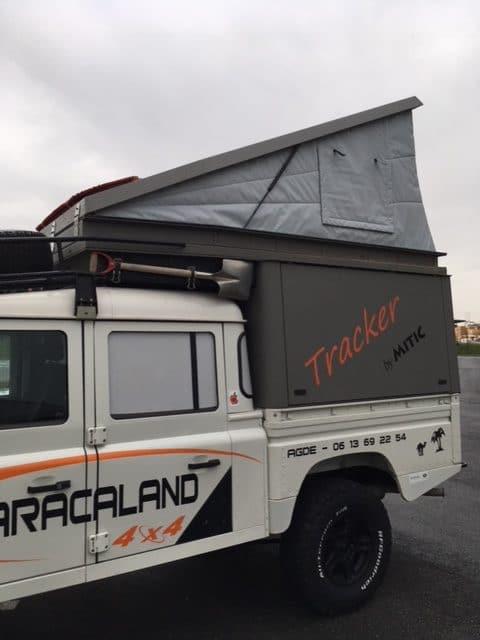 Toile de auvent pour pickup et jeep