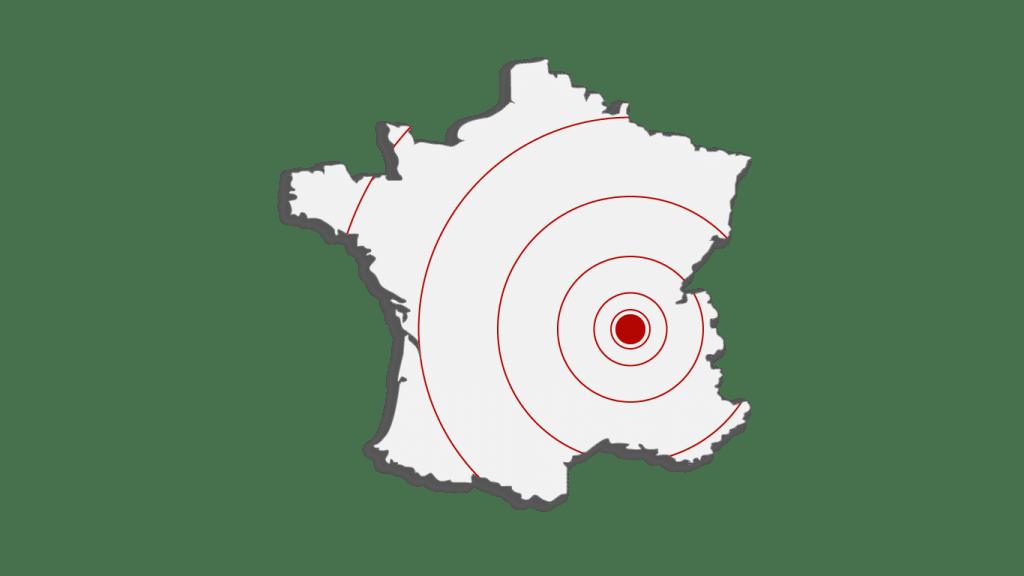 Rhône-Alpes et partout en France
