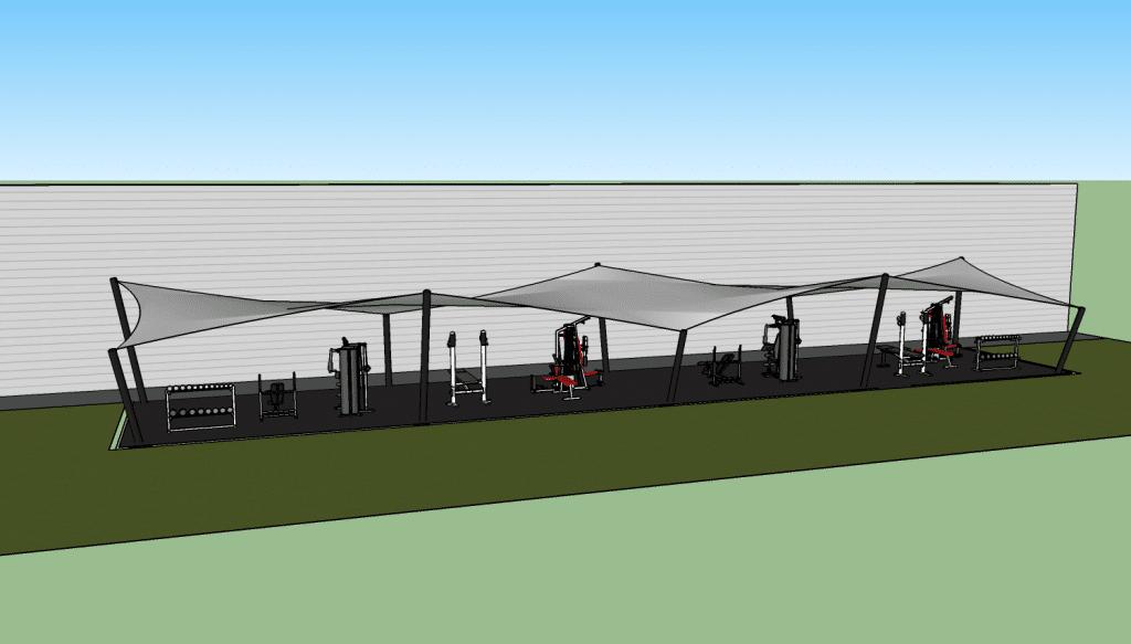 Visuel 3D du projet wurth