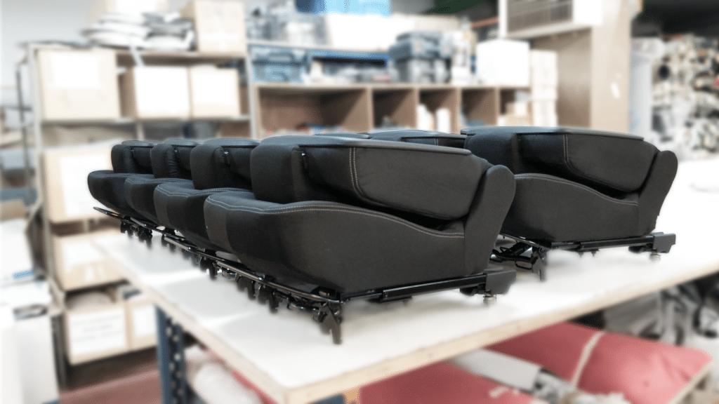 Série de siège automobile